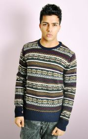 PATTERNED KNITTED JUMPER